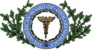 The American Boared of Otolaryngology - logo