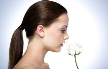 Side Profile of Ladies Face