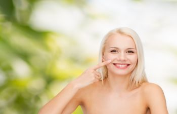 Smiling Woman Facial Rejuvenation